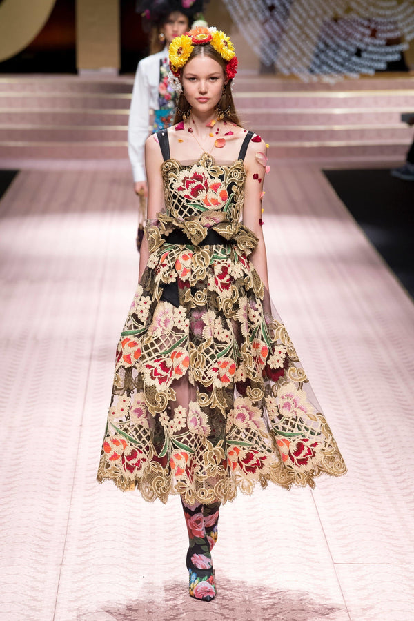Dolce & Gabbana Spring 2019 Hour of Flower by J.ING