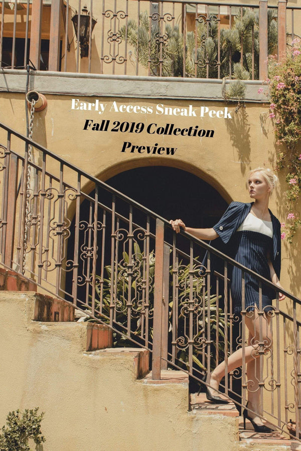 SNEAK PEEK at Fall Collection Pre-Release
