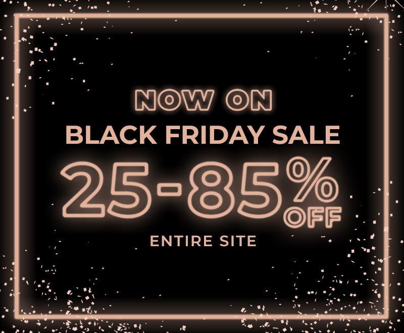 Black Friday Sale 25% Off