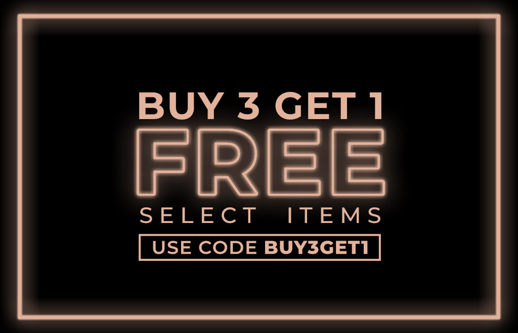 Black Friday Sale Buy 3 Get 1 Free