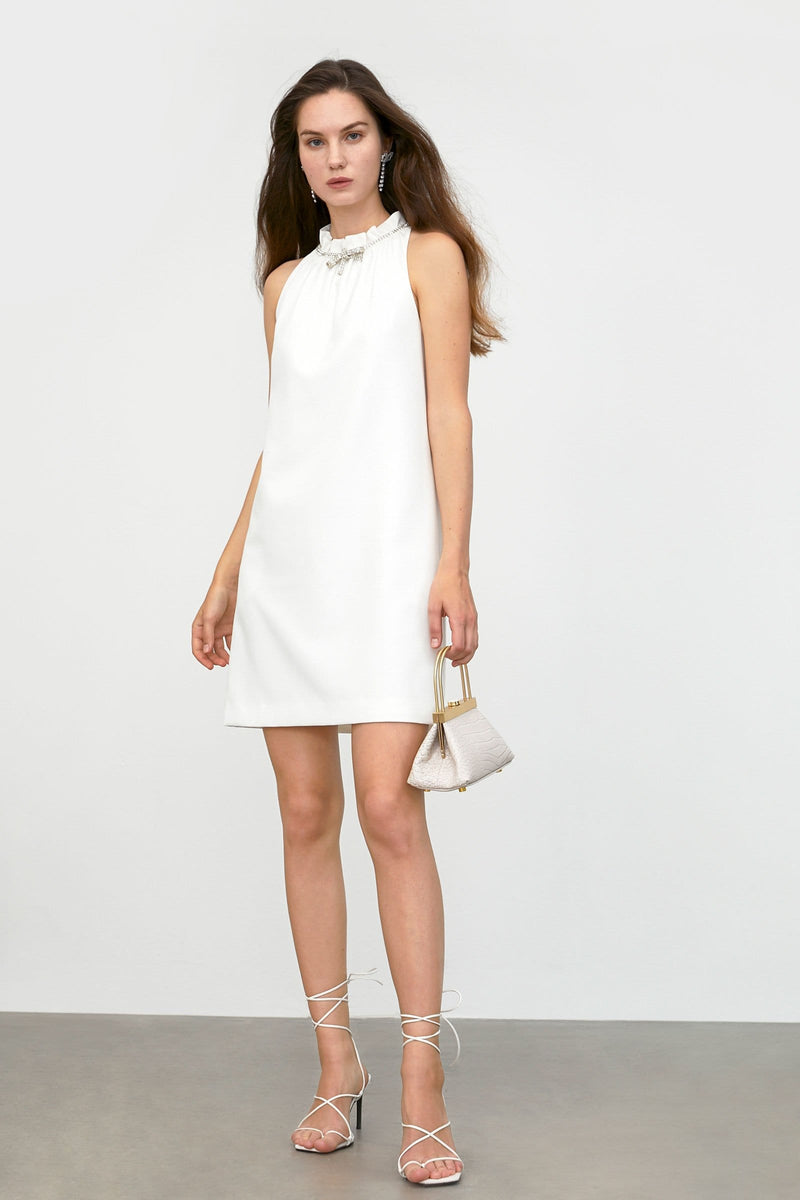 Emelie White Mini Dress