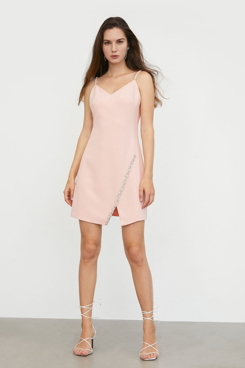 Stella Pink Mini Dress
