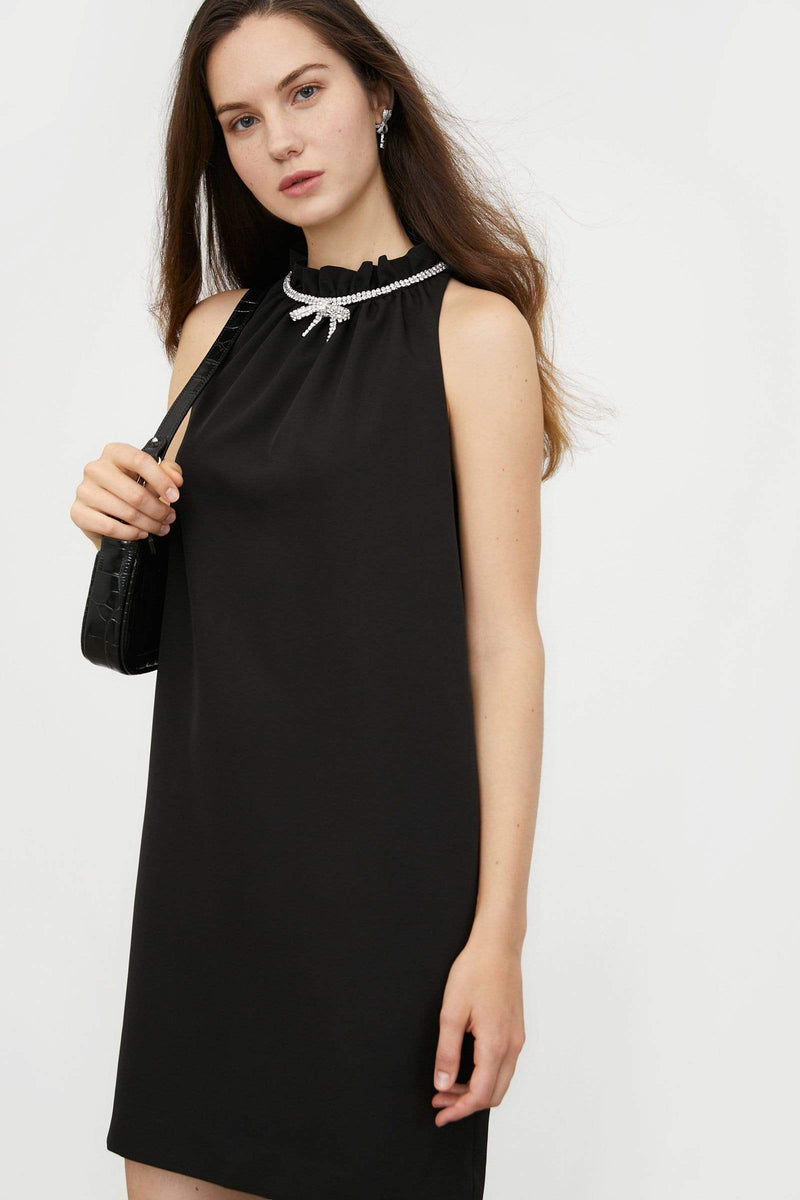 Emelie Black Mini Dress