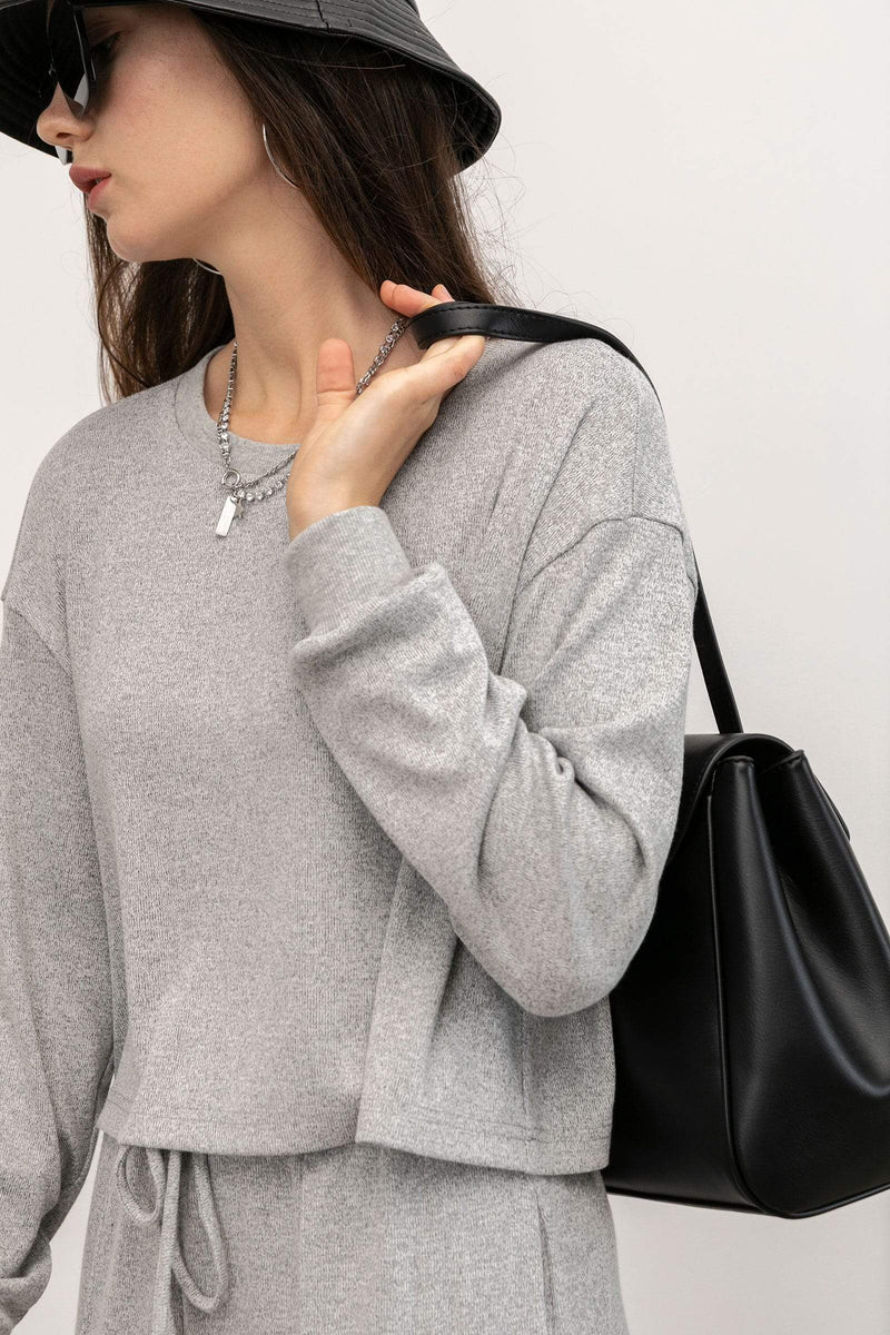 Cozy Grey Sweatshirt
