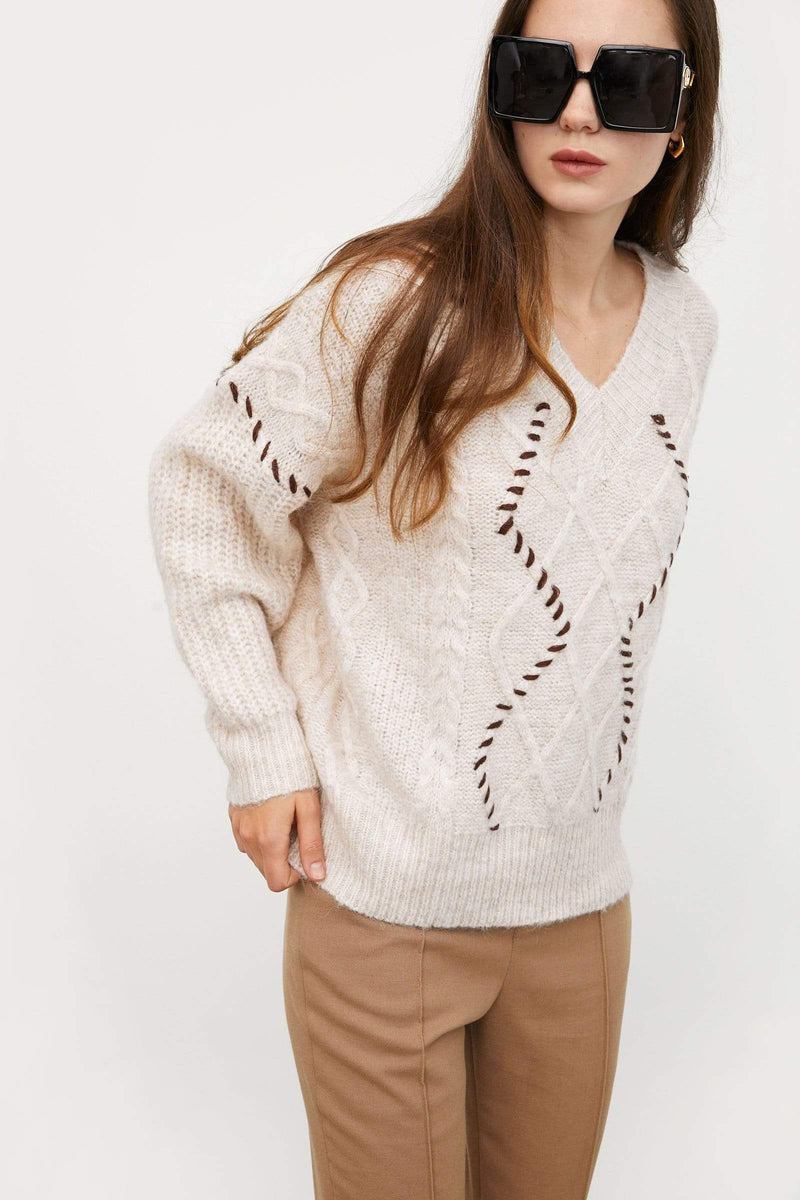 Dionne Cable Knit Sweater