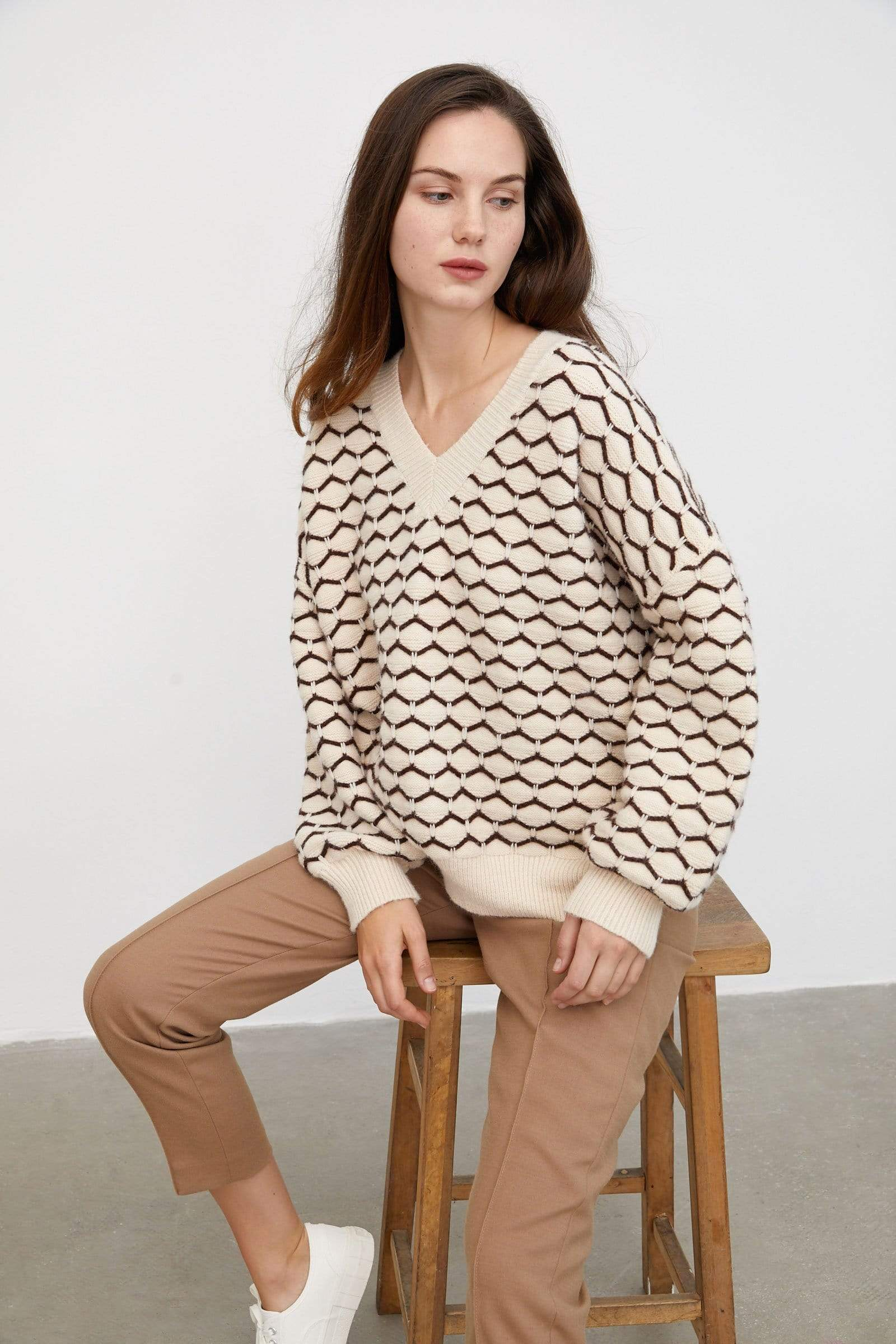 Van Wave Mixed Sweater