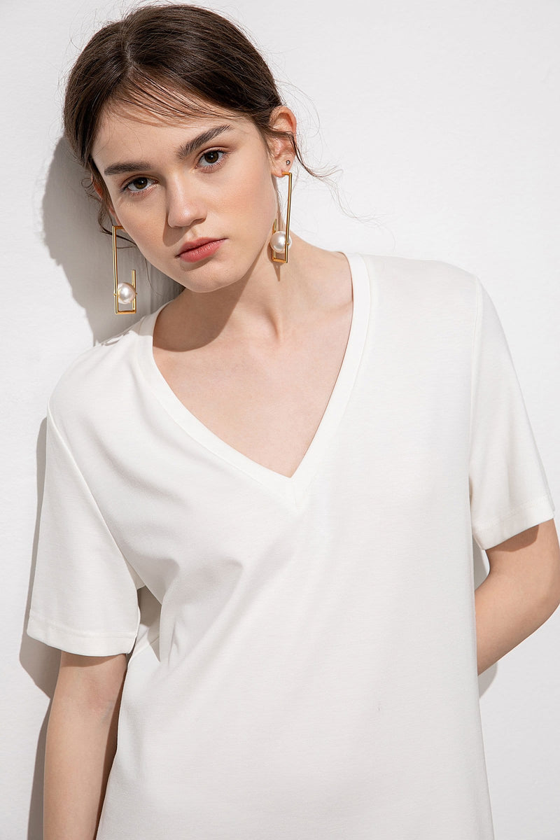 Essential White T-Shirt Dress