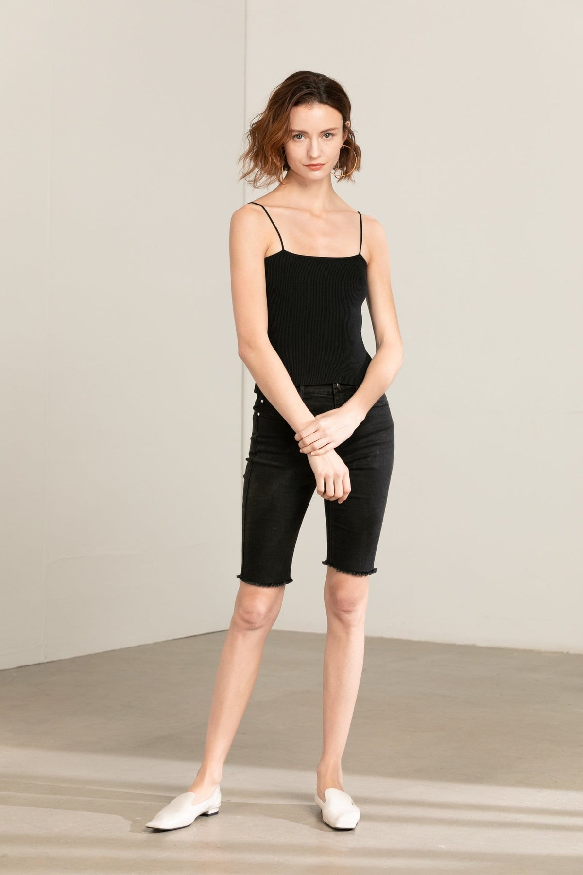 Black Spaghetti Strap Top
