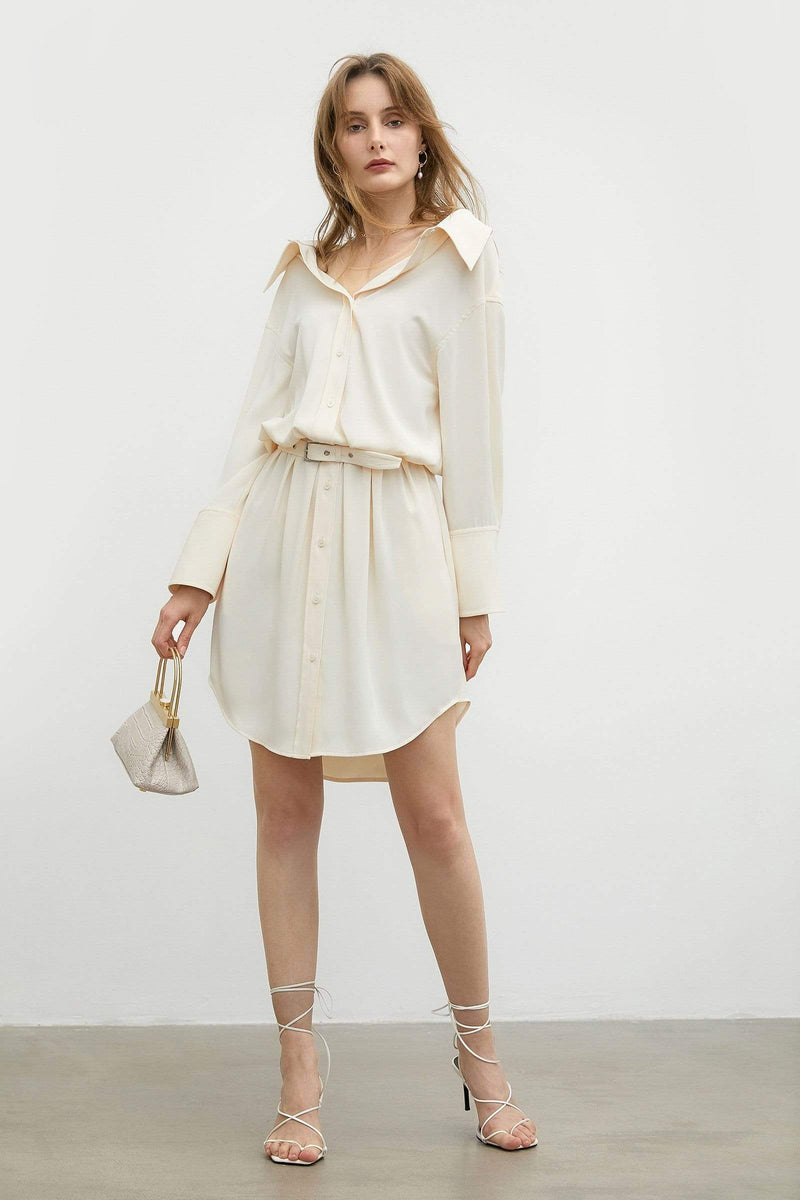 Creamsicle Shirt Dress