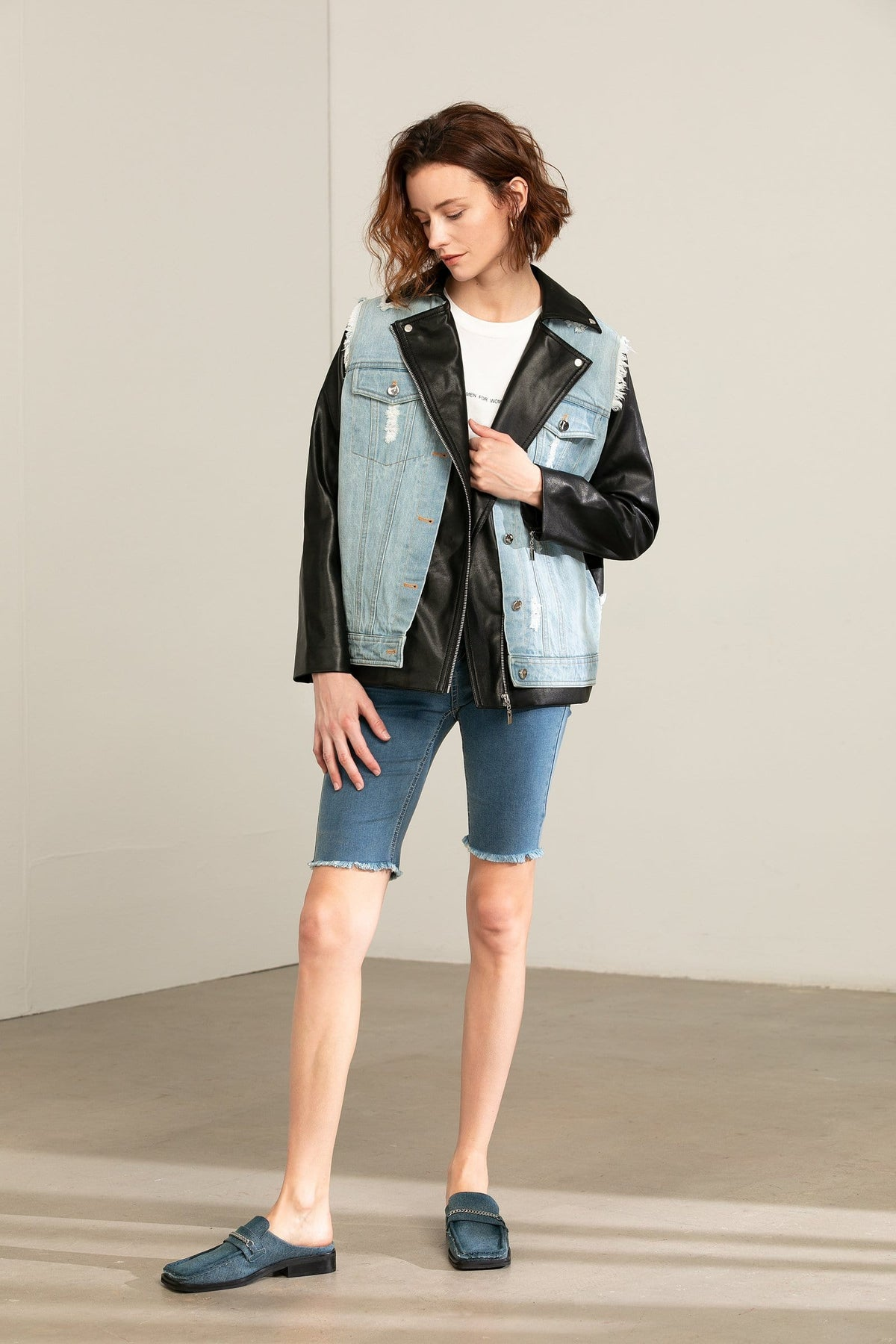 Alternative Mix Biker Jacket