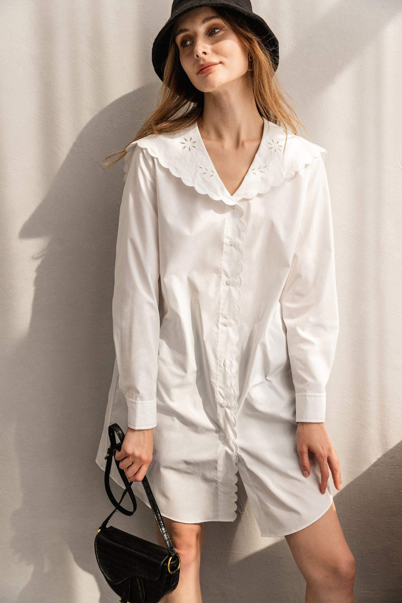 Colin White Shirt Dress