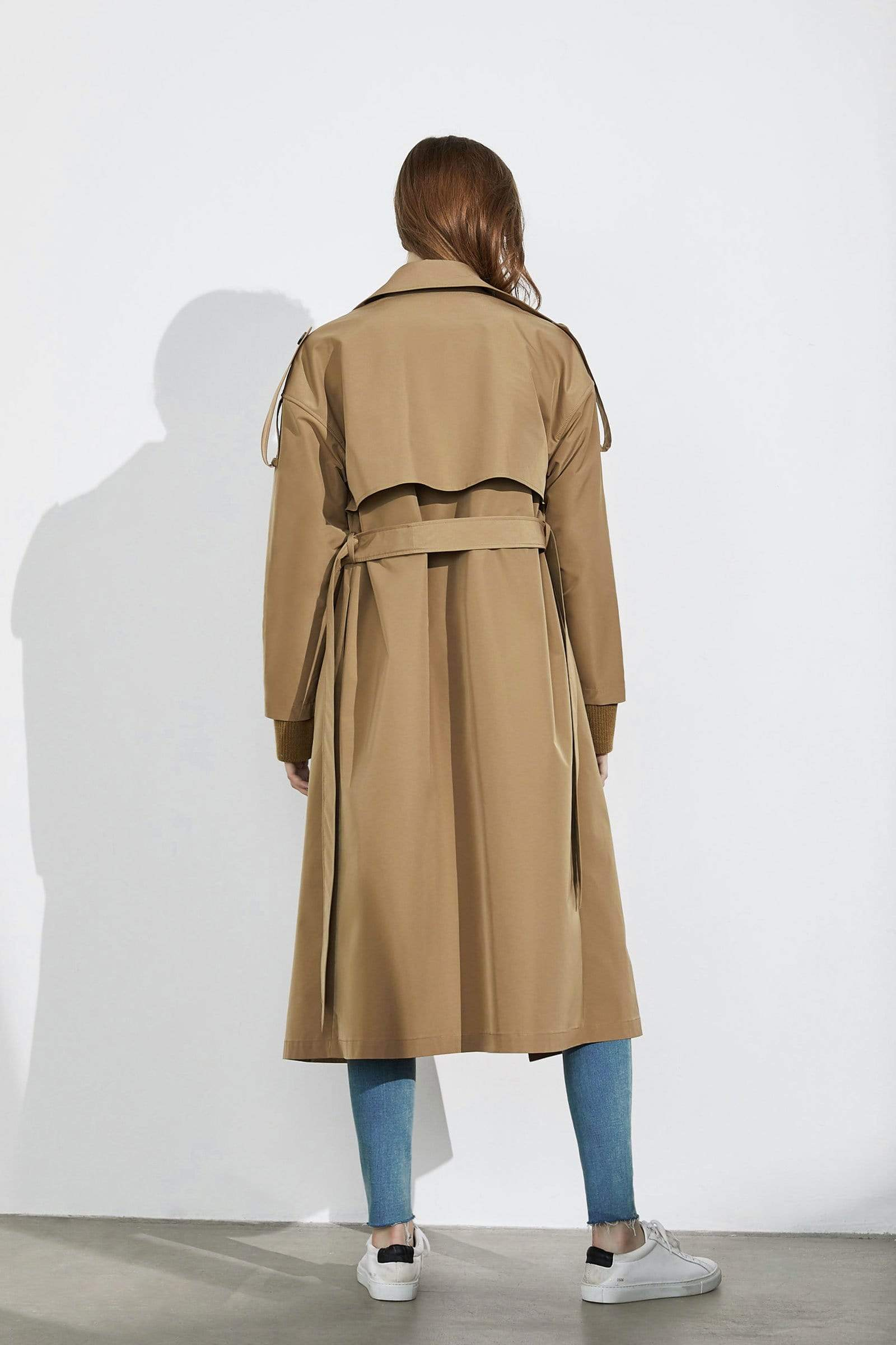 Lexor Camel Trench Coat