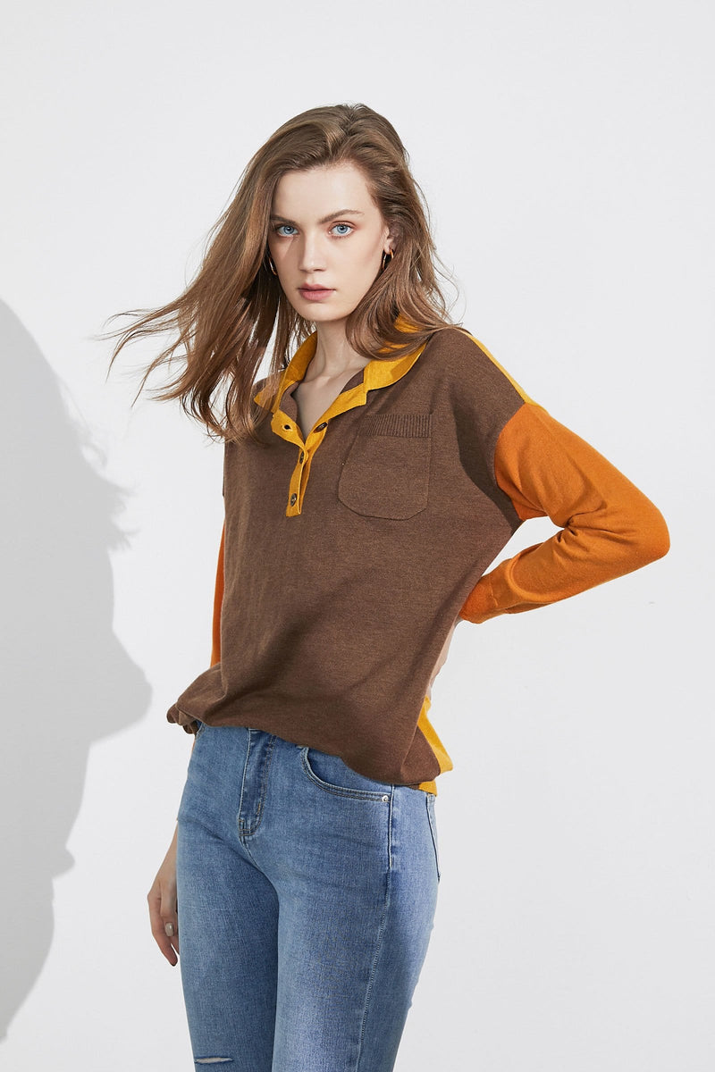Tawny Play Polo Sweater
