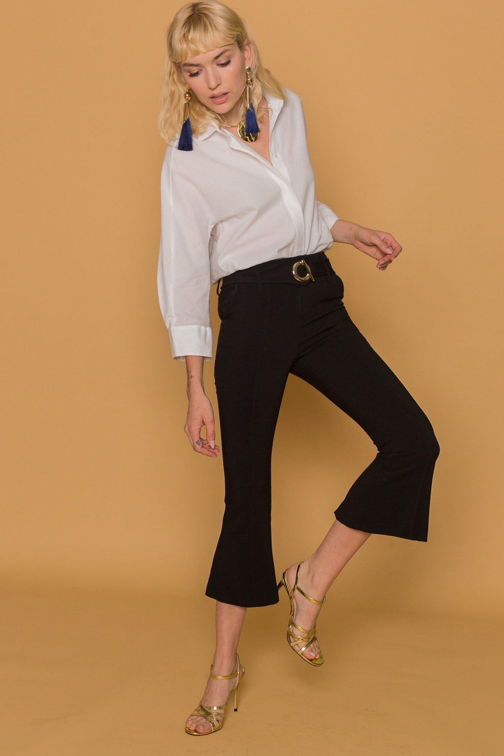 The 'O' Cropped Pants