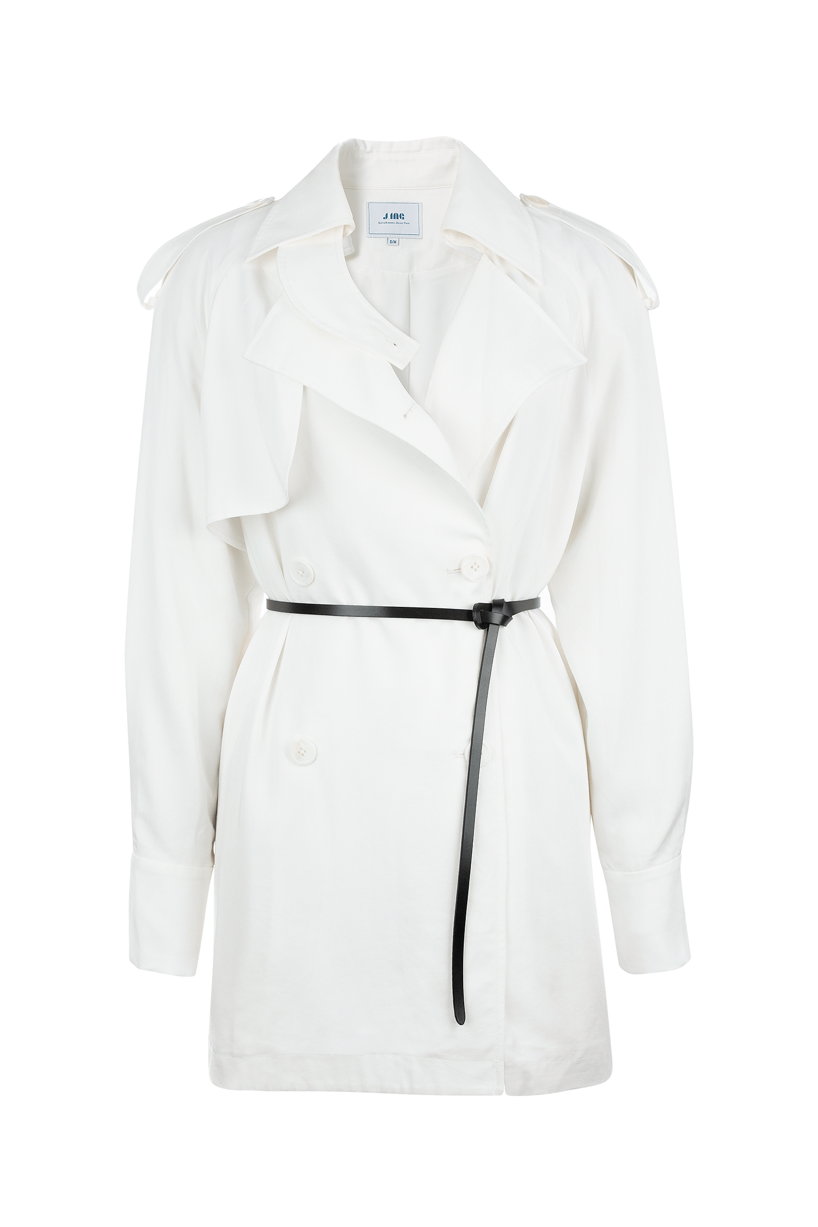 Ksenia White Jacket Blouse