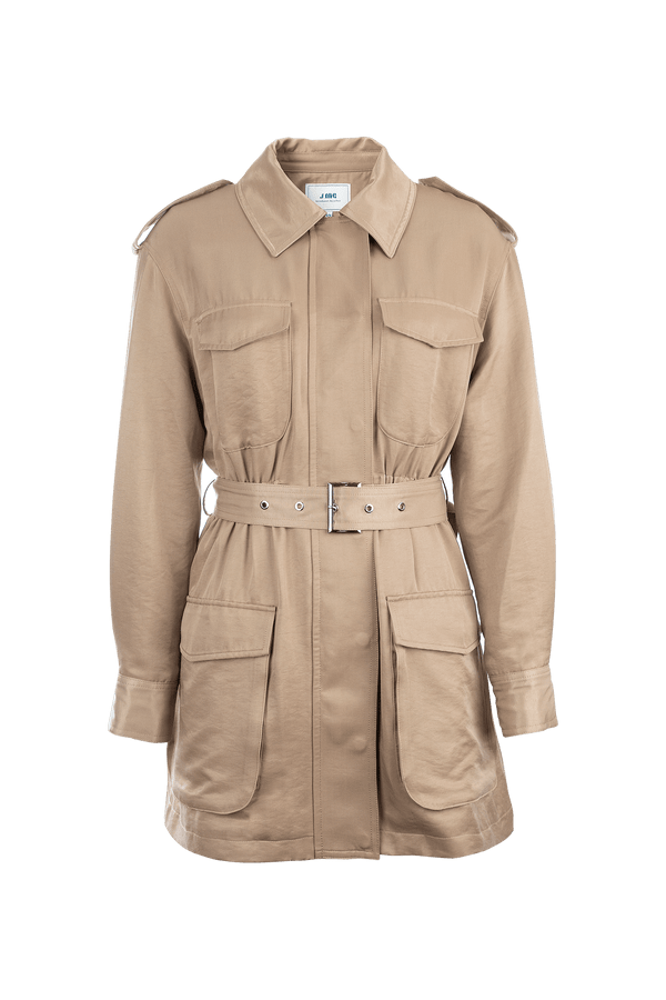 Army Tan Military Jacket