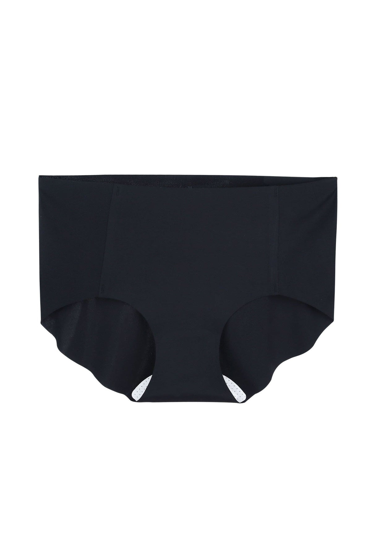 Black Seamless Mid-Waist Brief (1 pack)