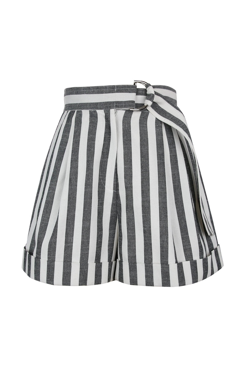 Venice Casual Striped Shorts