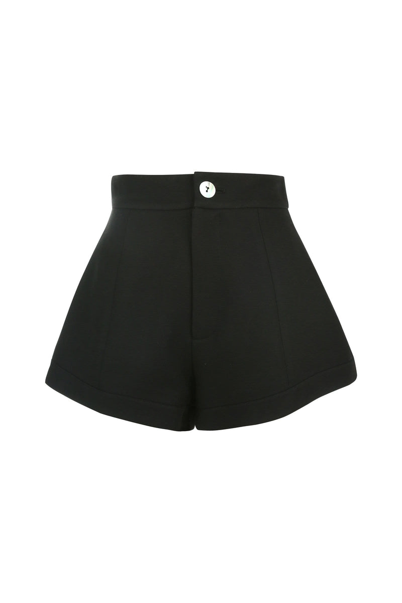 Chevonne Black Shorts