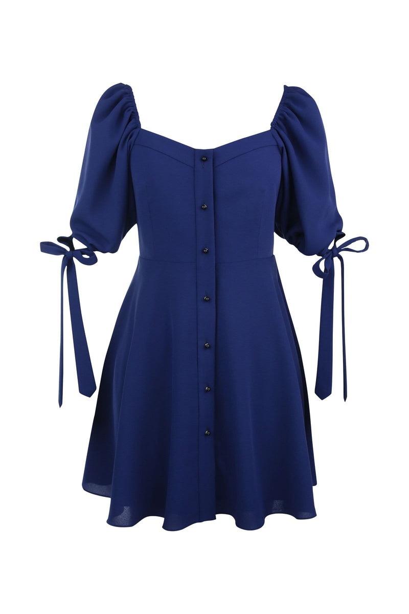 Daphne Royal Blue Mini Dress