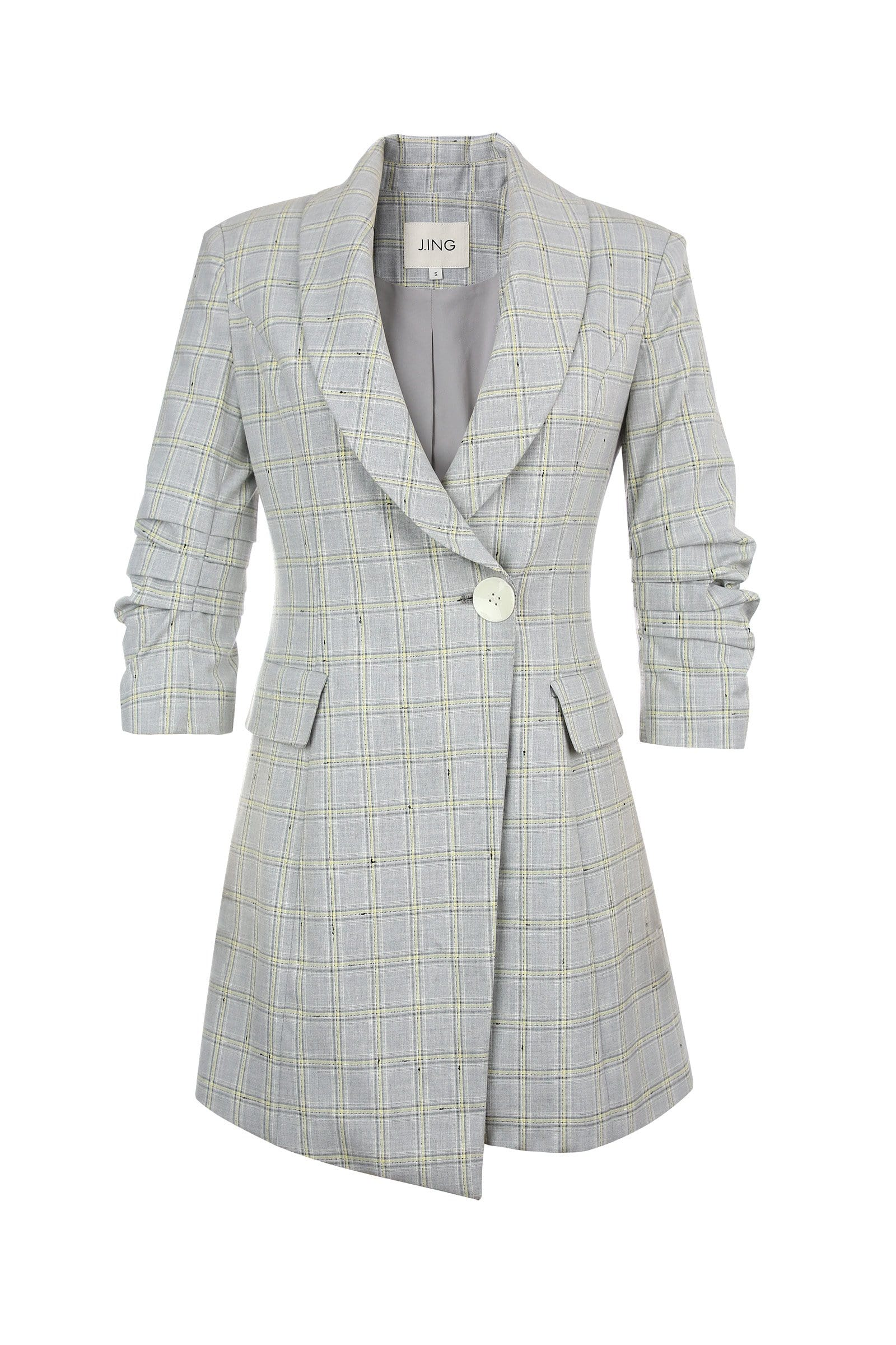 Avery Grey Blazer Mini Dress