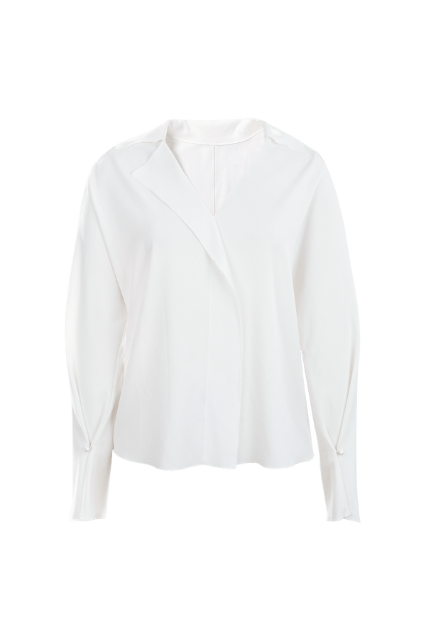Brooke Frosty Ash Silky Blouse