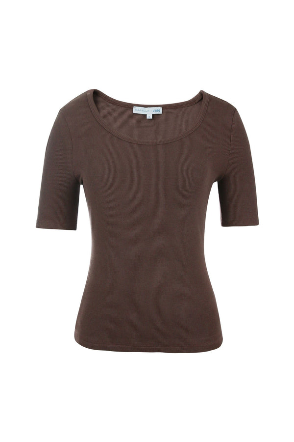 Bella Brown Soft Tee