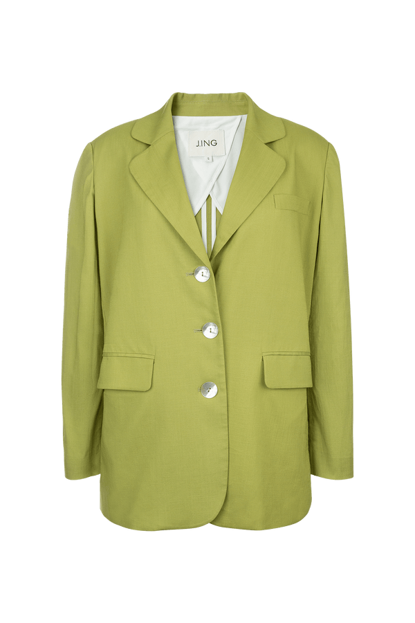 Yvette Green Blazer Jacket