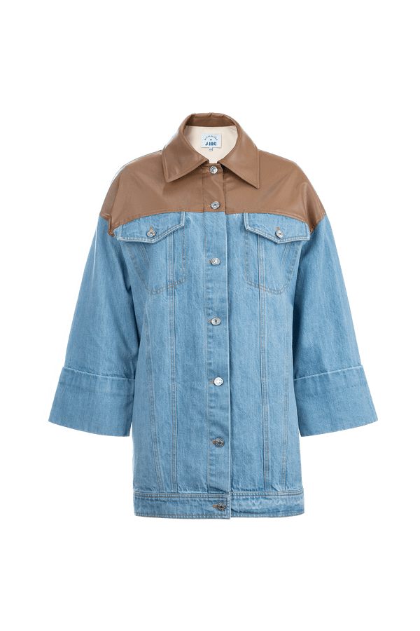 Beth Denim Western Shirt