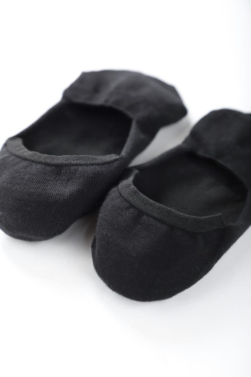 Slip-On Black Socks
