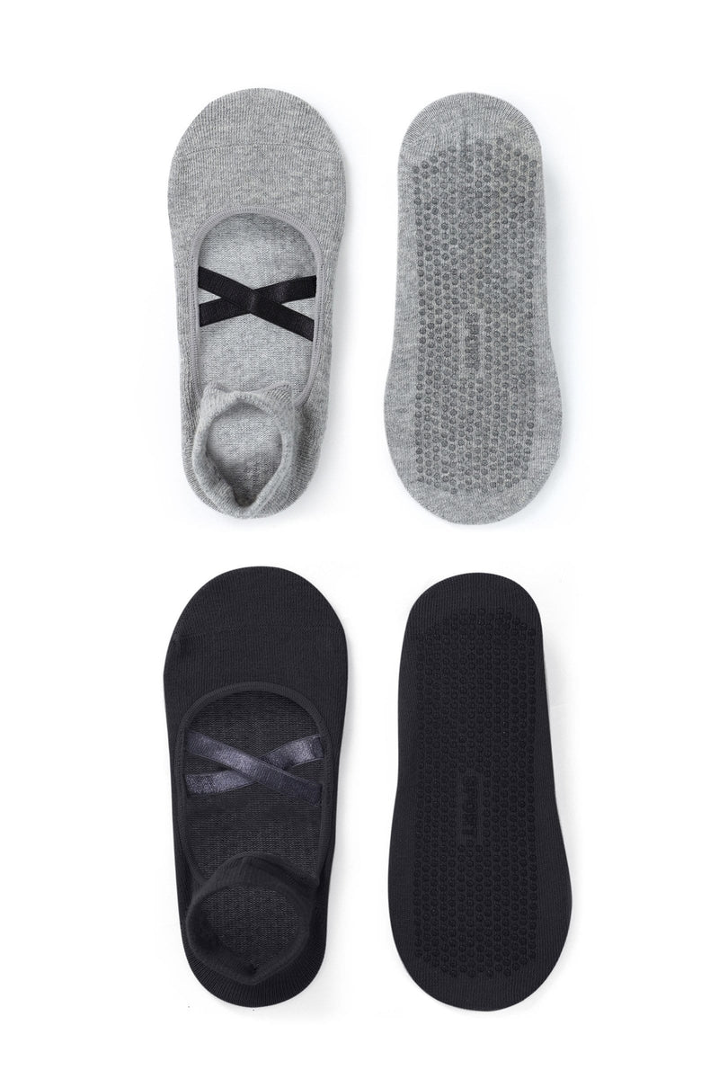 2-Pack Dark Barre Socks