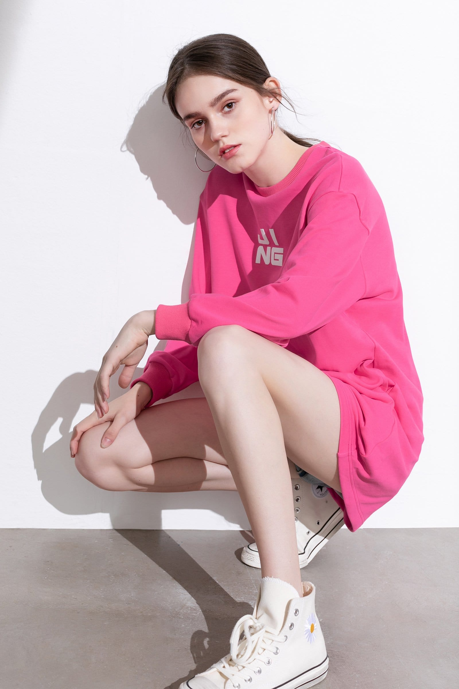 Wordplay Flamingo Sweater Dress