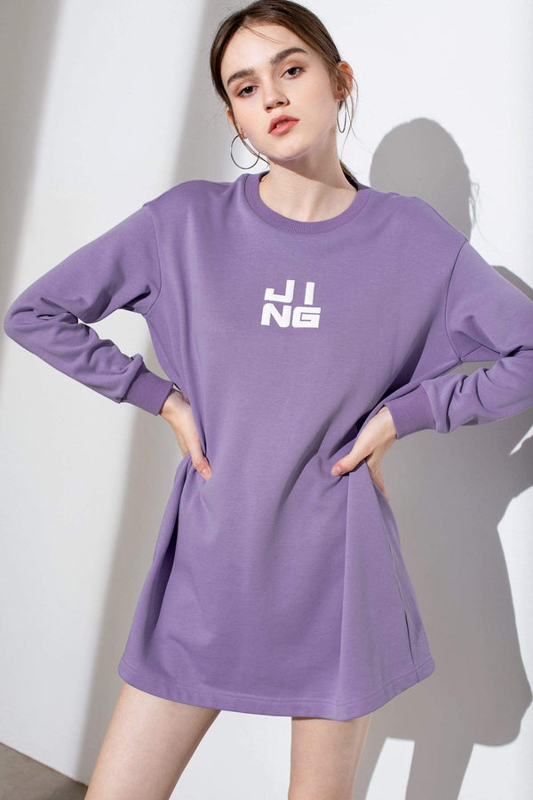 Wordplay Violet Sweater Dress