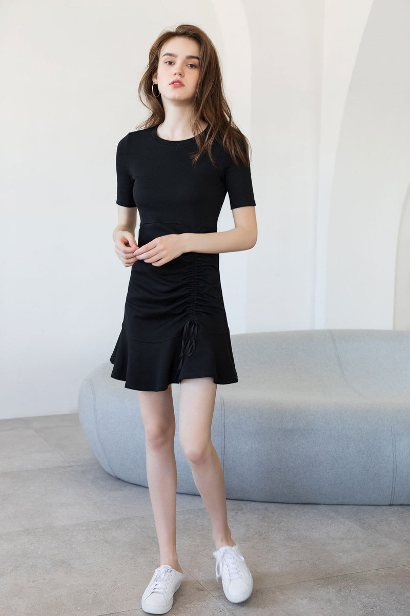 Sofia Black Mini Dress