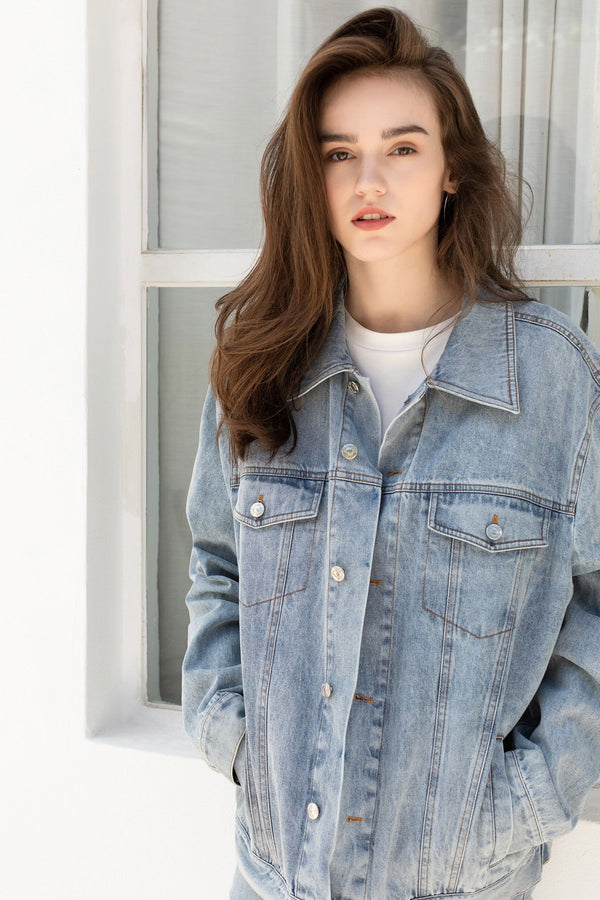 Shelby Oversized Denim Jacket
