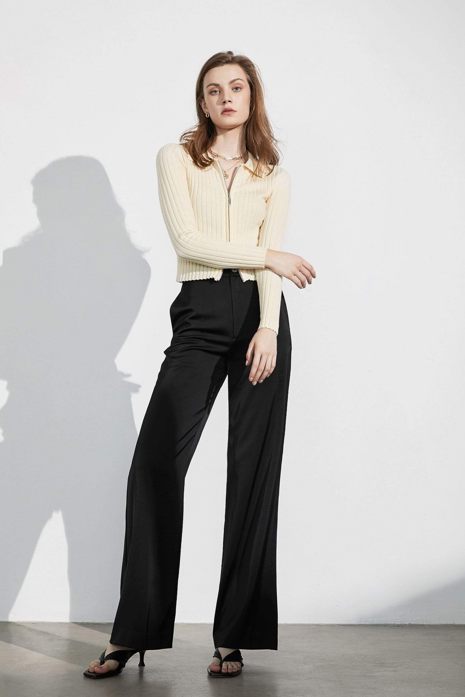 Business Essential Black Trousers