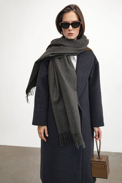 Charcoal Long Scarf