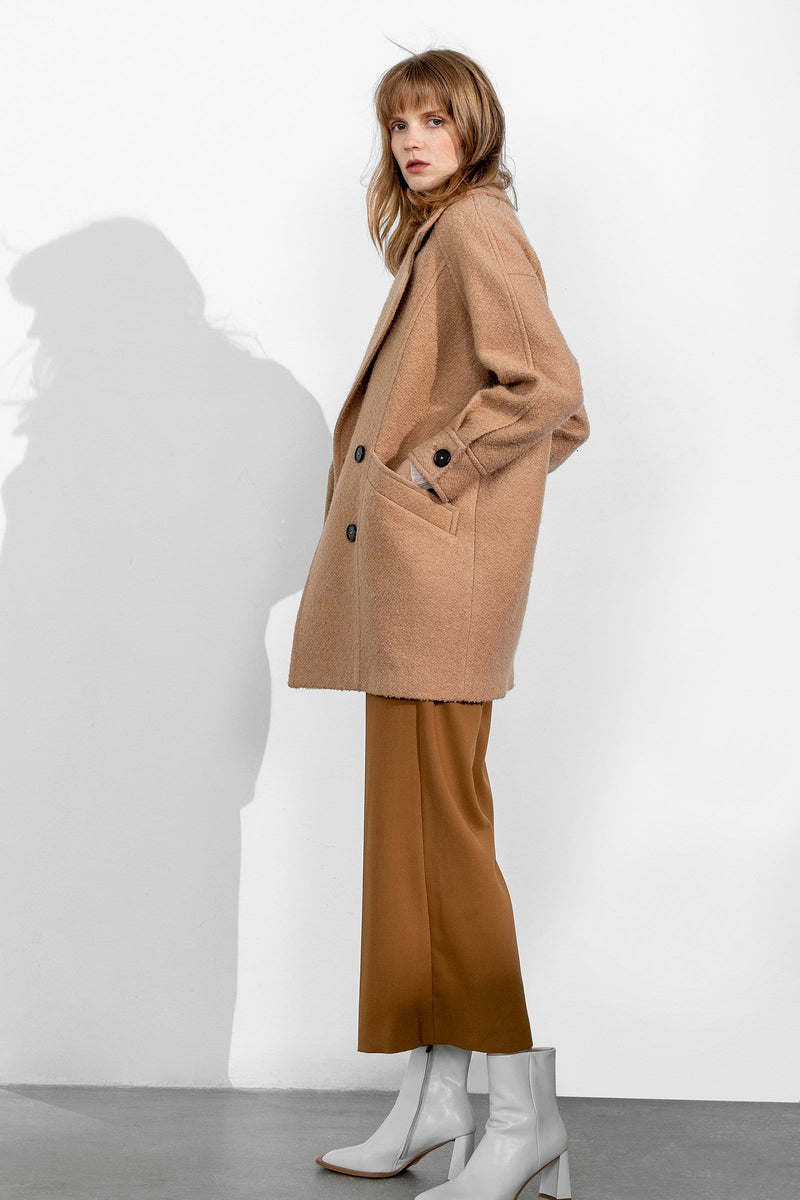 Teddy Tan Coat