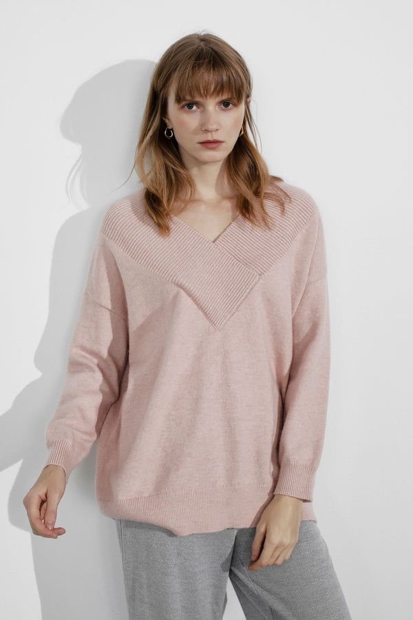 Tessa Pink Sweater