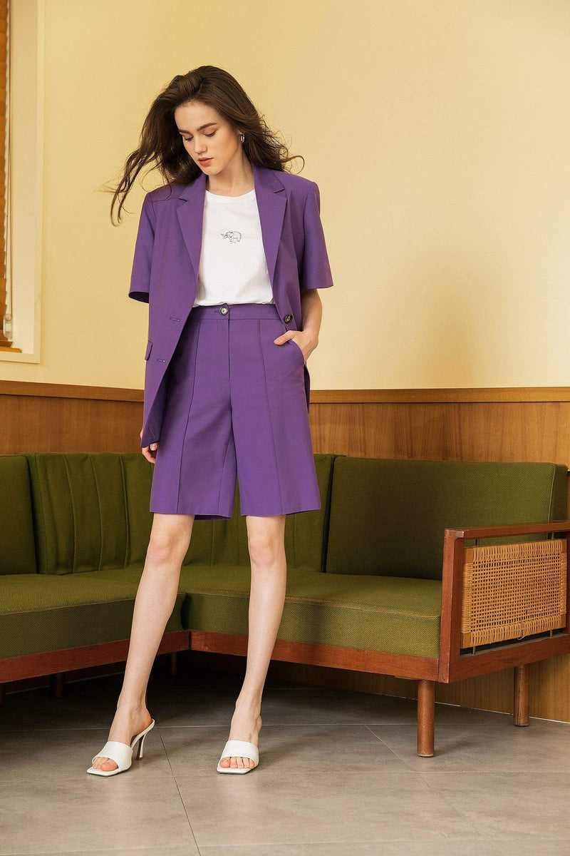 Burlington Orchid Bermuda Shorts