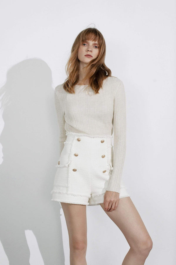 Frey High Waisted Shorts