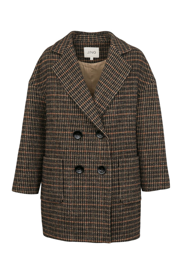 Charles Brown Oversize Pea Coat