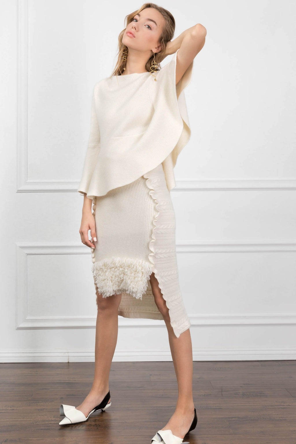 Sienna Knit Top + Skirt Set in Skirts by J.ING - an L.A based women's fashion line