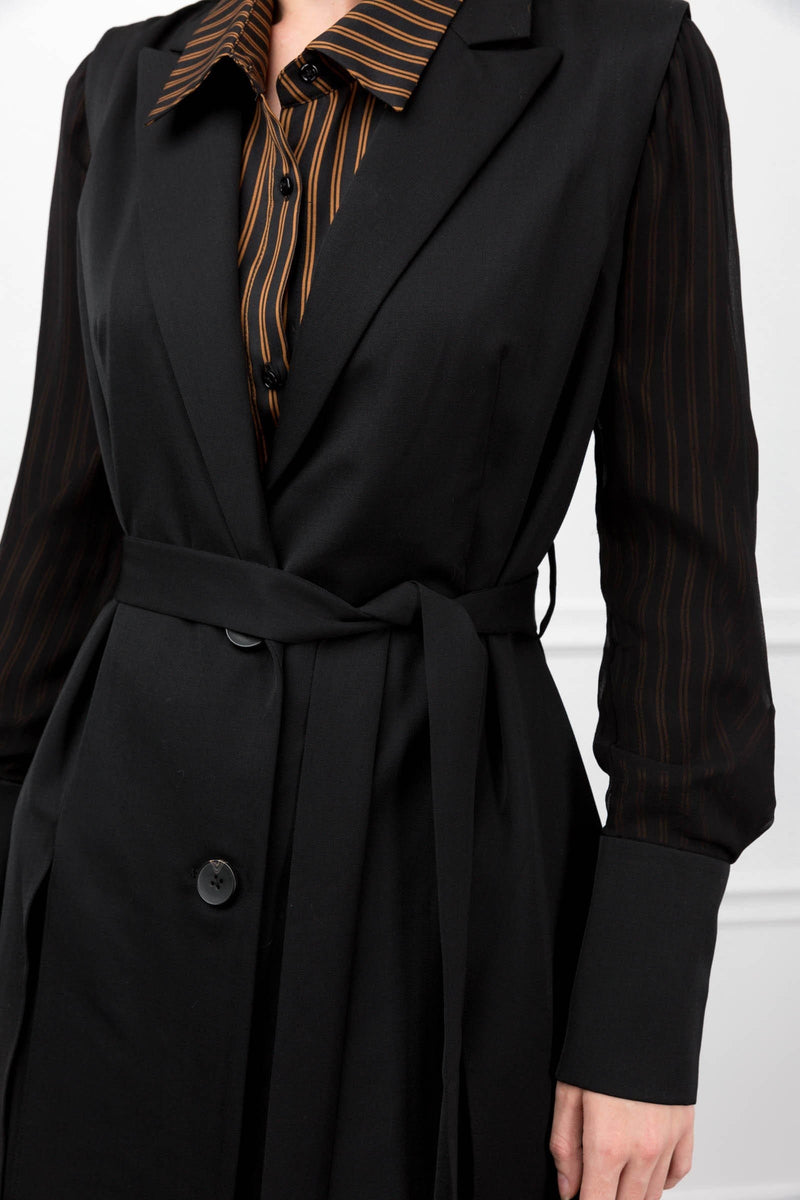 Willa Silk Trench Coat in Coats & Jackets by J.ING - an L.A based women's fashion line