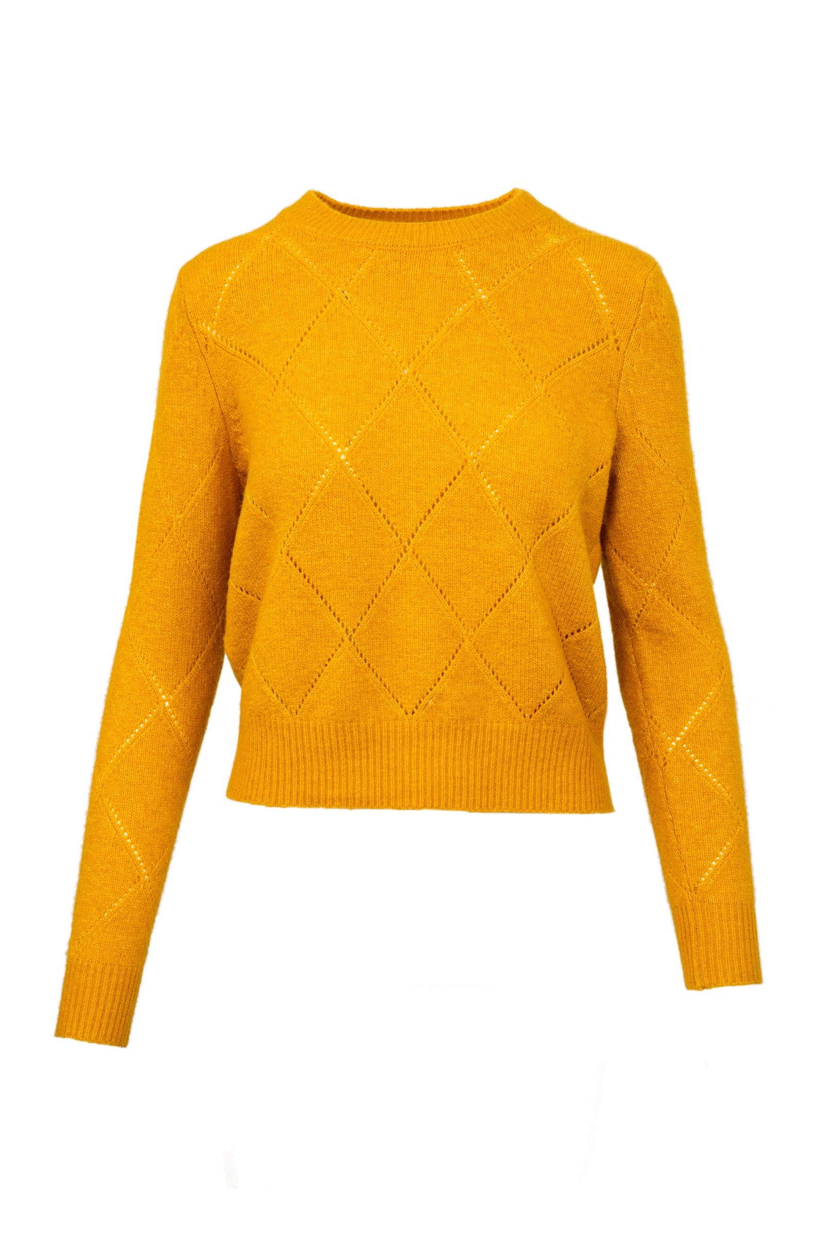 Husk Mustard Yellow Knitted Sweater