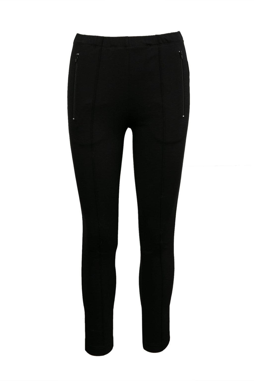 Pro Black Fitted Leggings by J.ING Women's Bottoms