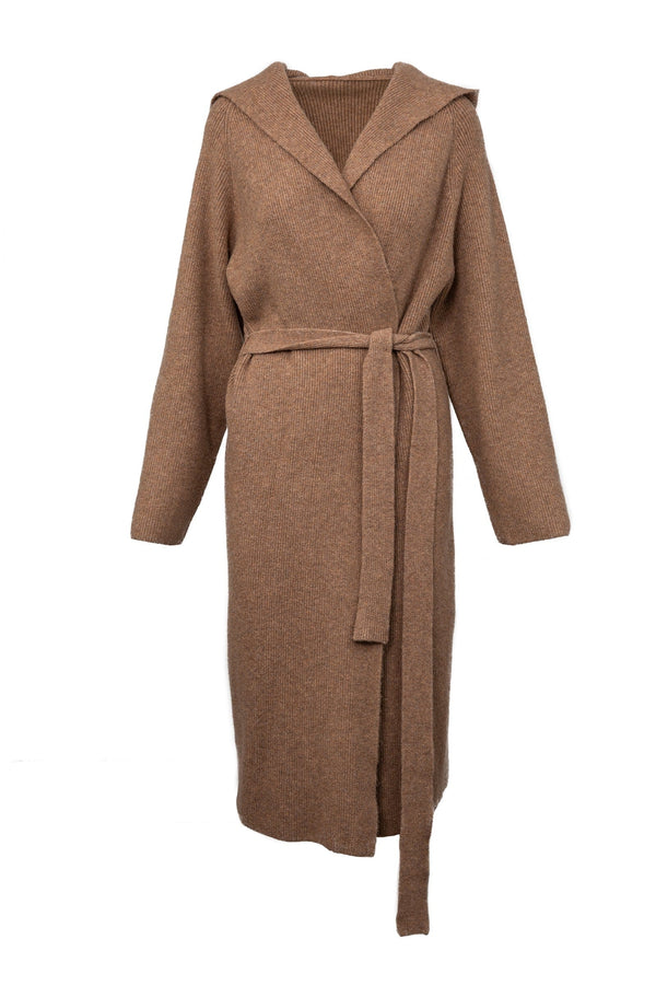 Elk Tan Knit Duster