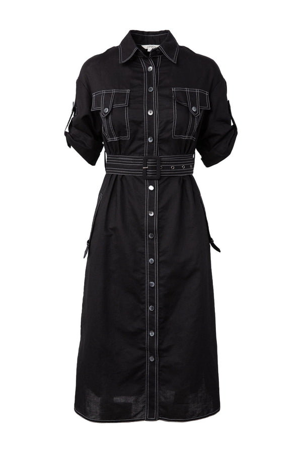Mechanic Midi Dress