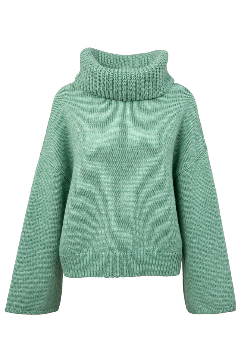 Fresh Sage Oversize Sweater