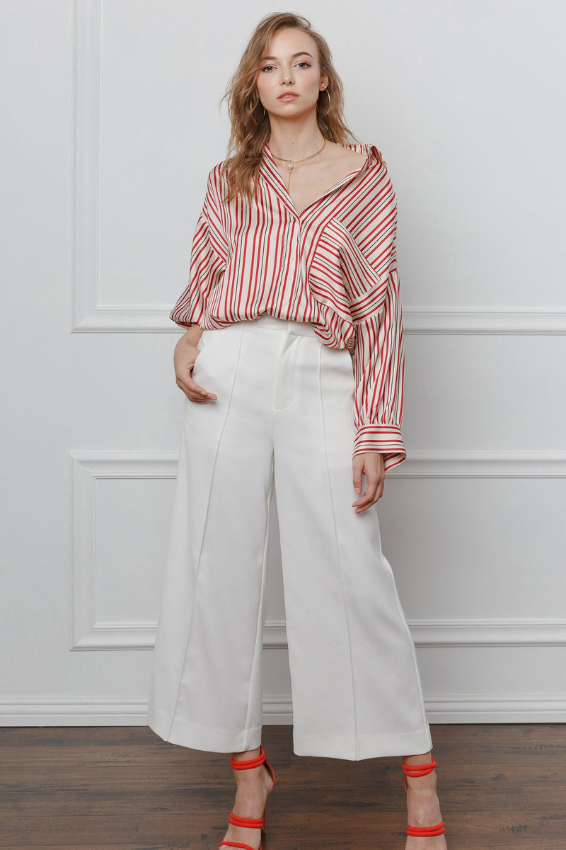 White Delight Pants in Pants by J.ING - an L.A based women's fashion line